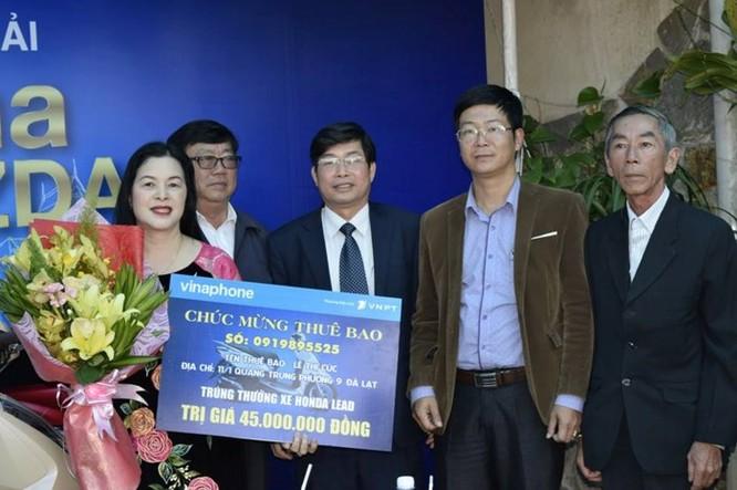 VNPT trao thưởng xe máy Honda Lead cho khách hàng tại thành phố Đà Lạt ảnh 1