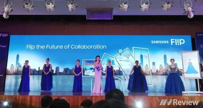Samsung ra mắt 'bảng làm việc tương lai' Flip WM55H tại Việt Nam ảnh 1