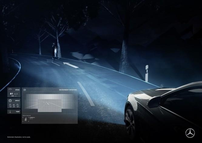 Mercedes-Maybach với Digital Light 'vẽ' được những gì lên mặt đường? ảnh 3