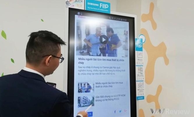 Samsung ra mắt 'bảng làm việc tương lai' Flip WM55H tại Việt Nam ảnh 3
