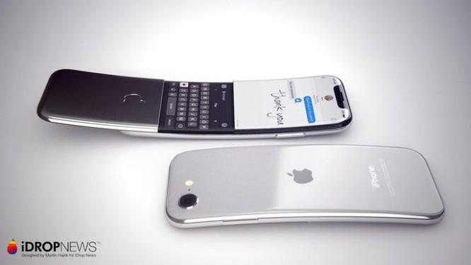 Bất ngờ với ý tưởng iPhone màn hình cong giống 'quả chuối' Nokia 8100 ảnh 5