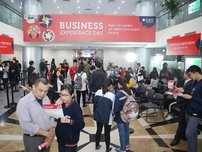 Gần 1.000 học sinh và phụ huynh dự Ngày hội trải nghiệm tại Đại học RMIT ảnh 1