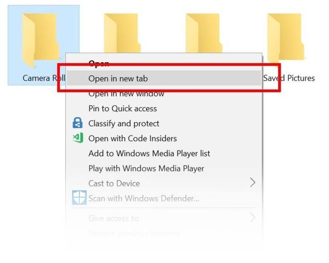 Cận cảnh 'Sets' - tính năng duyệt file theo tab trên Windows 10 Redstone 5 ảnh 2