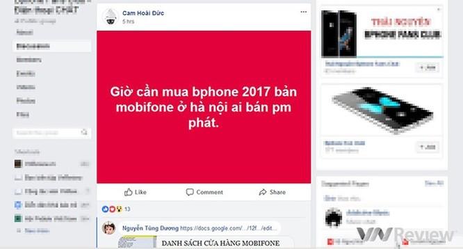 Nhiều nơi MobiFone không còn Bphone 2 để bán ảnh 2