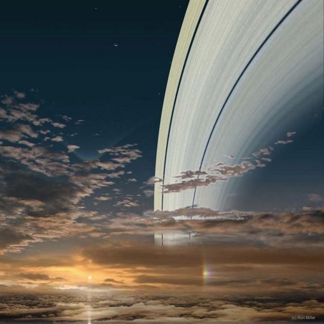 Hình ảnh Mặt Trời nhìn từ các hành tinh khác trong Thái Dương Hệ ảnh 7