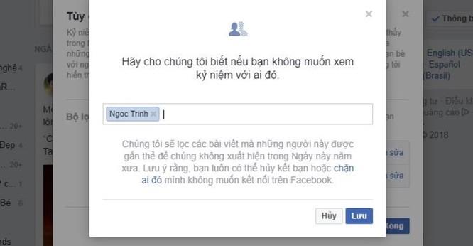 Mẹo nhỏ để Facebook không nhắc lại những kỷ niệm buồn ảnh 1