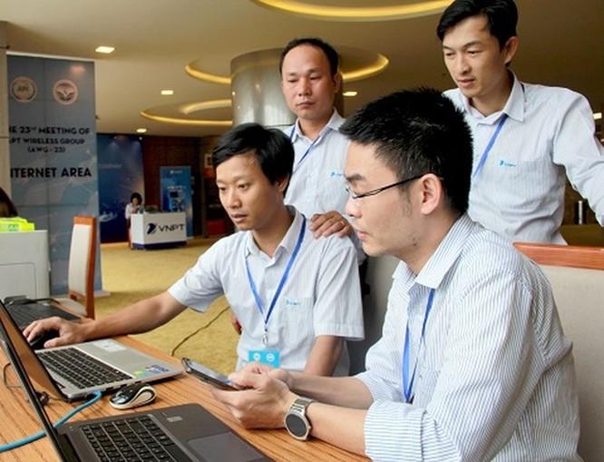VNPT đảm bảo thông tin liên lạc Hội nghị AWG-23 ảnh 1