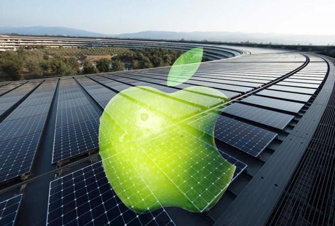 Apple sử dụng năng lượng sạch 100% cho các cơ sở trên toàn cầu ảnh 1