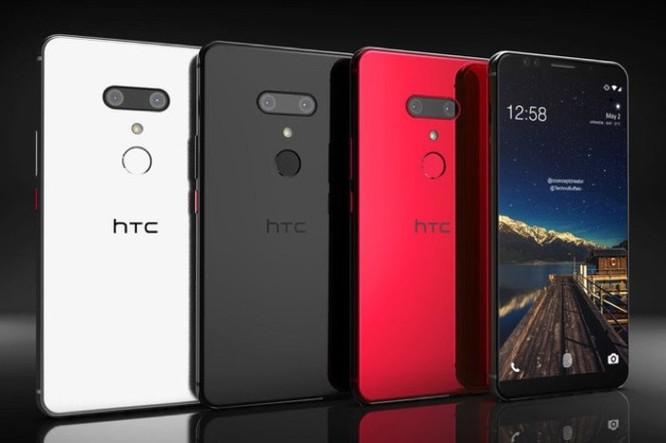 Cấu hình HTC U12+ lộ toàn tập trong ảnh chụp vỏ hộp, RAM 8GB ảnh 1