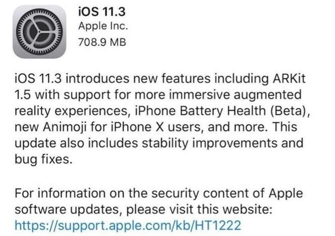 iOS 11.3 lỗi nghiêm trọng, vô hiệu hóa màn hình cảm ứng trên iPhone 8 và iPhone 8 Plus ảnh 1
