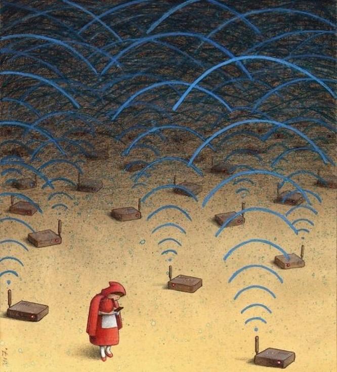 Những bức hình châm biếm, phô bày mặt trái của xã hội số ngày nay ảnh 14