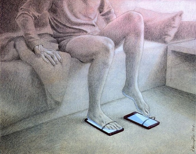 Những bức hình châm biếm, phô bày mặt trái của xã hội số ngày nay ảnh 18