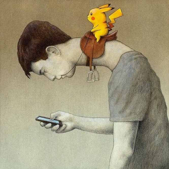 Những bức hình châm biếm, phô bày mặt trái của xã hội số ngày nay ảnh 20