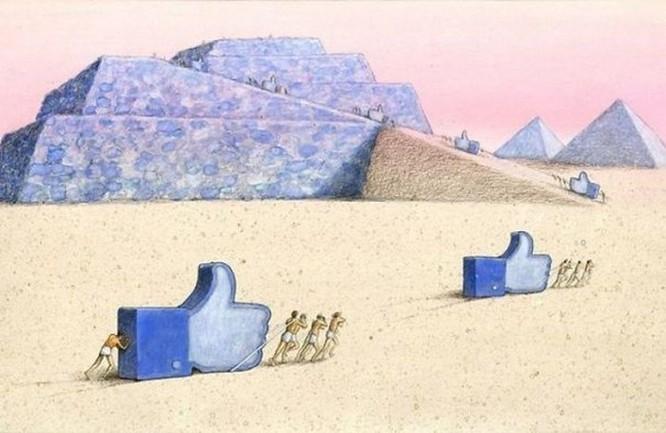 Những bức hình châm biếm, phô bày mặt trái của xã hội số ngày nay ảnh 24