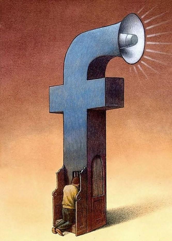 Những bức hình châm biếm, phô bày mặt trái của xã hội số ngày nay ảnh 2