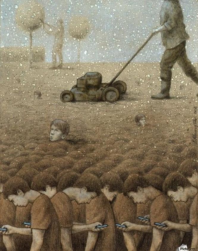 Những bức hình châm biếm, phô bày mặt trái của xã hội số ngày nay ảnh 4