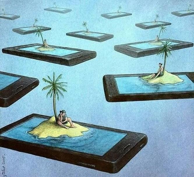 Những bức hình châm biếm, phô bày mặt trái của xã hội số ngày nay ảnh 8