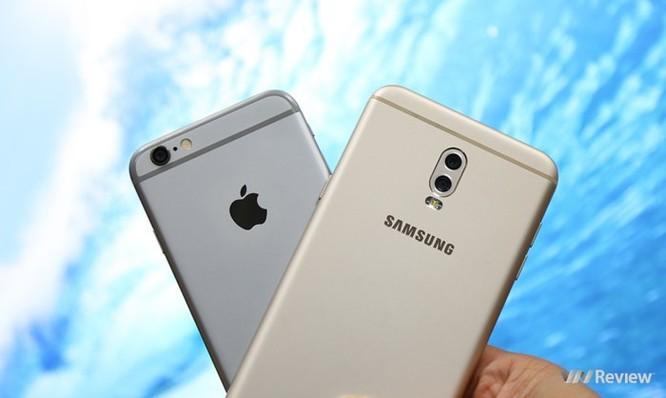 Samsung Galaxy J7+ thắng áp đảo 'trung niên' iPhone 6 trong bài đọ camera giấu mặt ảnh 1