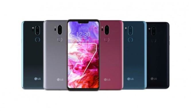 Đây là những tùy chọn màu sắc của LG G7 ThinQ sắp tới ảnh 1