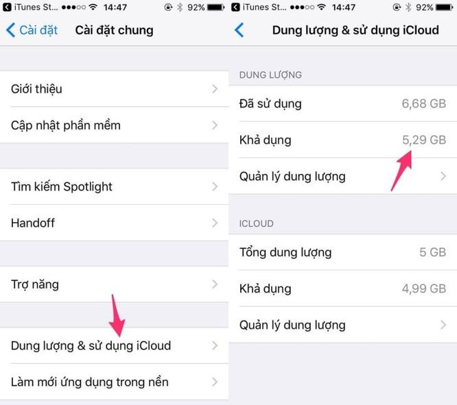 7 cách tăng dung lượng lưu trữ trên iPhone ảnh 7
