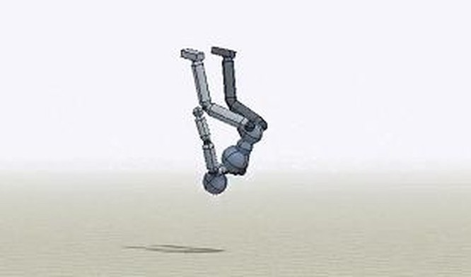 Robot đã có thể thực hiện các cú nhào lộn trên không một cách hoàn hảo ảnh 1