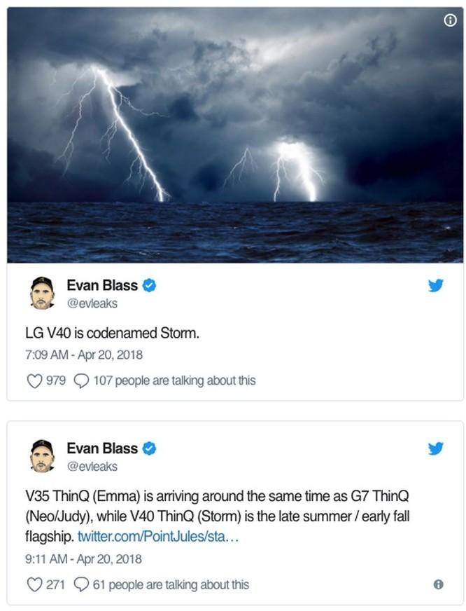 LG đang phát triển V40 với tên mã 'Storm'? ảnh 2