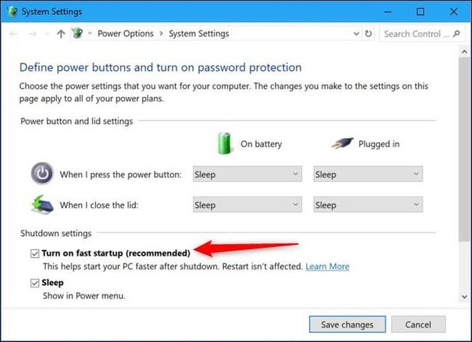 Nút Shut Down không tắt hẳn máy tính Windows 10, muốn sửa lỗi hãy bấm Restart ảnh 5