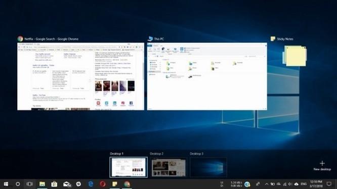 Các thủ thuật đa tác vụ cực nhanh trên Windows 10 ảnh 1
