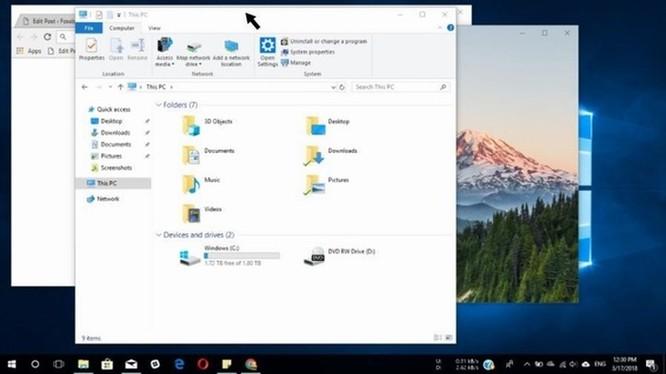 Các thủ thuật đa tác vụ cực nhanh trên Windows 10 ảnh 3