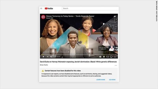 YouTube bị tố chạy quảng cáo có nội dung phản động và ấu dâm trên video của các công ty lớn ảnh 3