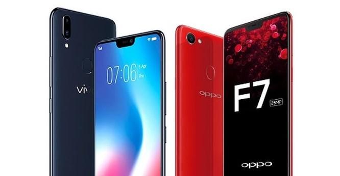 Cùng giá nên mua Oppo F7 hay Vivo V9? ảnh 2