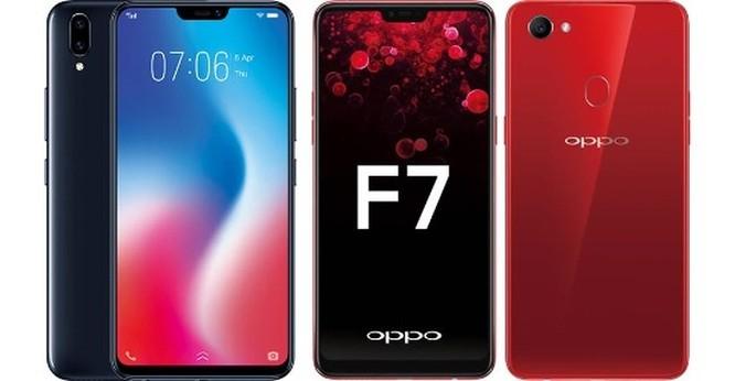 Cùng giá nên mua Oppo F7 hay Vivo V9? ảnh 25