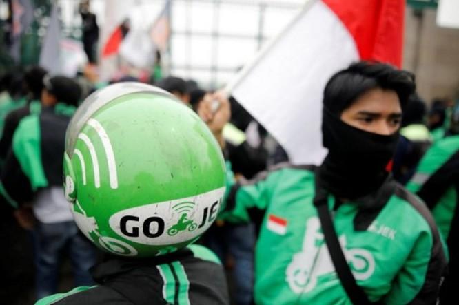 Hàng ngàn xe ôm công nghệ Indonesia biểu tình đòi mức giá chở khách xứng đáng hơn ảnh 2