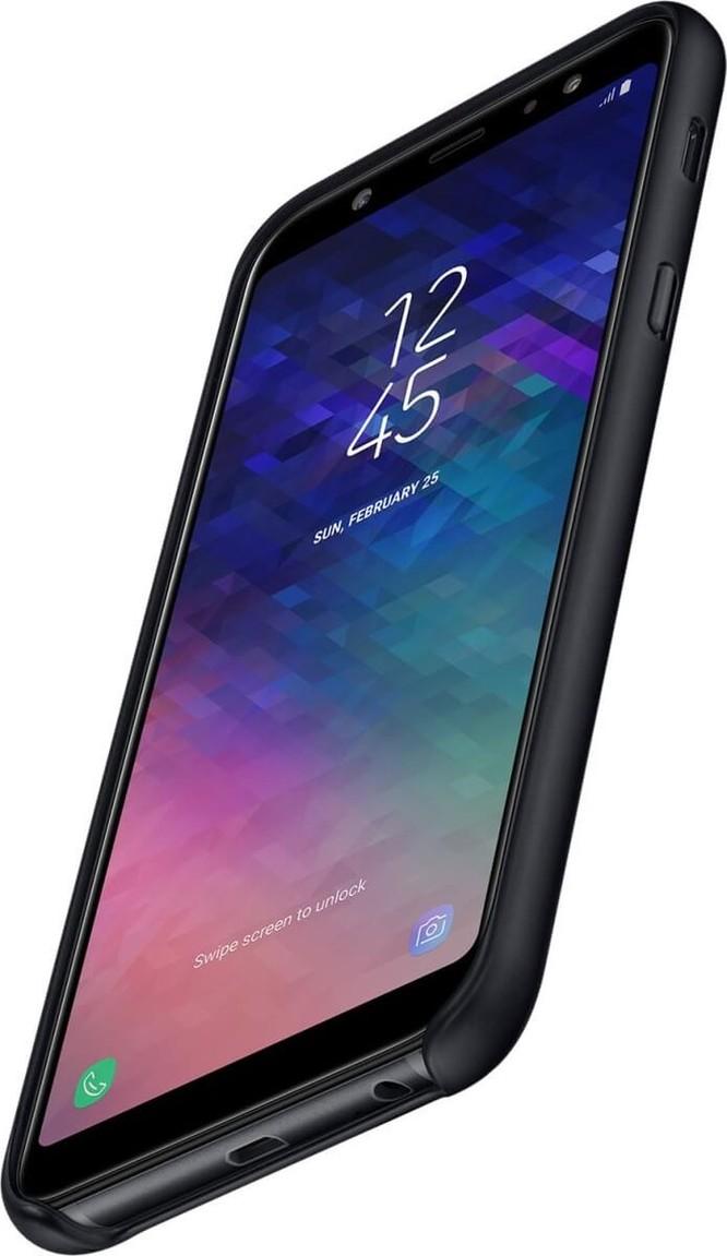 Lộ hình ảnh dựng Galaxy A6/A6+, thân kim loại như dòng Galaxy J ảnh 5