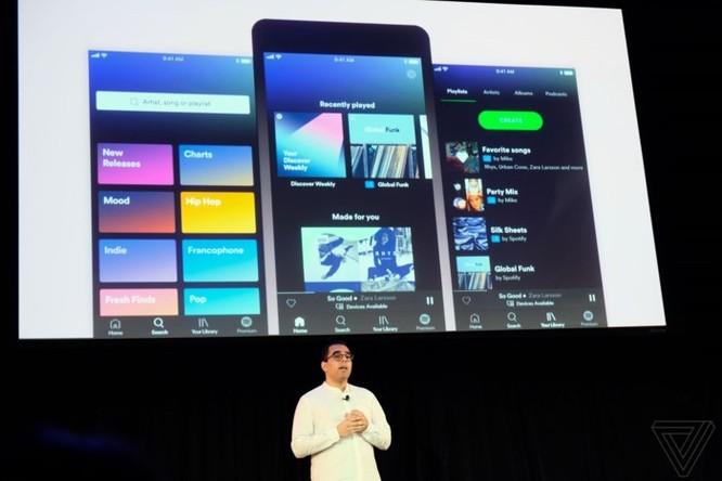 Spotify tung ứng dụng với thiết kế mới, có playlist theo yêu cầu dành cho người dùng miễn phí ảnh 1