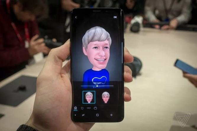 Bằng sáng chế của Samsung cho phép trò chuyện video với AR Emoji ảnh 1