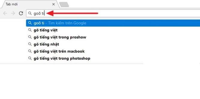 Hướng dẫn xử lý lỗi gõ tiếng Việt cực khó chịu trên thanh địa chỉ Google Chrome ảnh 1