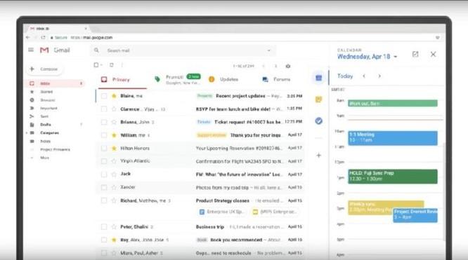 Khám phá những tính năng mới trên Gmail ảnh 1