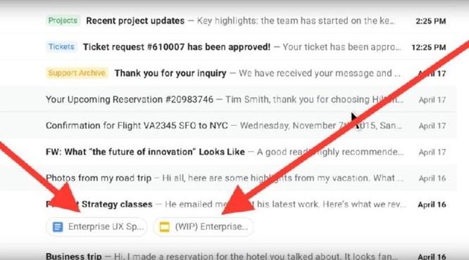 Khám phá những tính năng mới trên Gmail ảnh 5