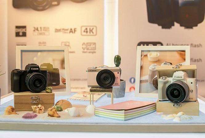 Loạt máy ảnh Canon EOS M50, EOS 1500D và EOS 3000D giá mềm lên kệ ảnh 1
