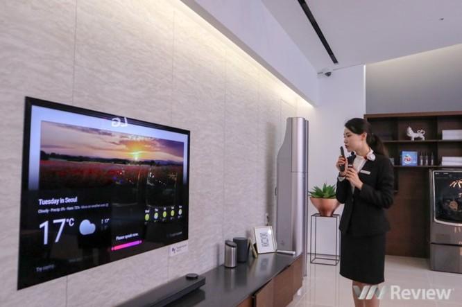 Cận ảnh loạt TV tích hợp AI của LG vừa ra mắt tại Innofest châu Á 2018 ảnh 11