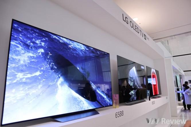 Cận ảnh loạt TV tích hợp AI của LG vừa ra mắt tại Innofest châu Á 2018 ảnh 1