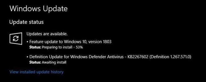 Cách tải về bản cập nhật Windows 10 April 2018 Update 1803 ngay từ bây giờ ảnh 2