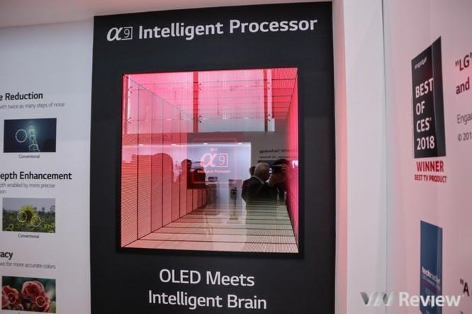 Cận ảnh loạt TV tích hợp AI của LG vừa ra mắt tại Innofest châu Á 2018 ảnh 2
