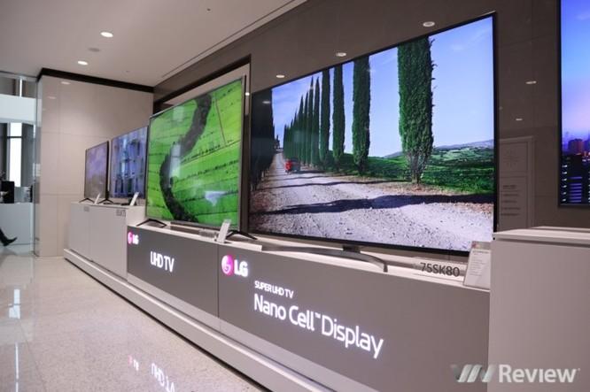 Cận ảnh loạt TV tích hợp AI của LG vừa ra mắt tại Innofest châu Á 2018 ảnh 7