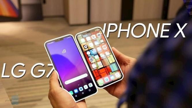 LG lên tiếng phủ nhận LG G7 ThinQ sao chép Apple ảnh 1