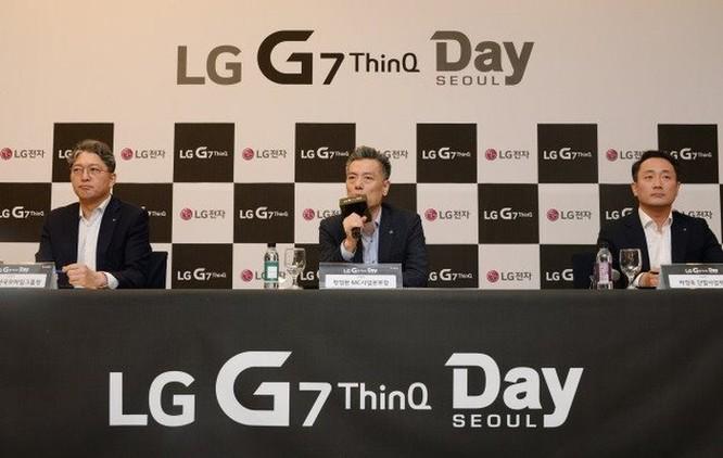 LG lên tiếng phủ nhận LG G7 ThinQ sao chép Apple ảnh 2