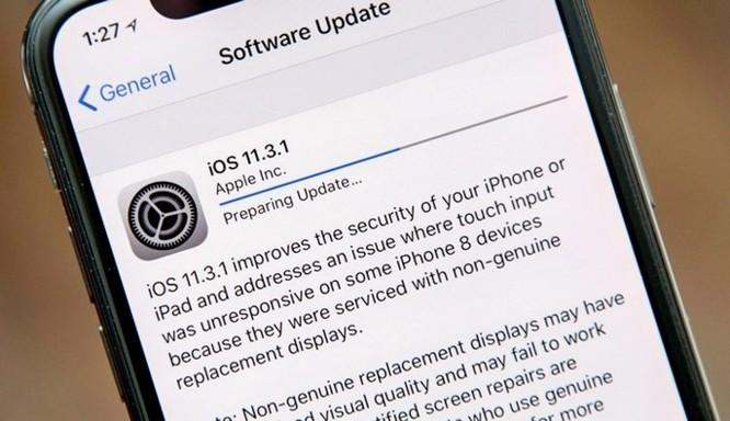Apple bất ngờ khóa sign hạ cấp về iOS 11.3 chỉ trong vòng chưa đầy 2 tuần ảnh 2