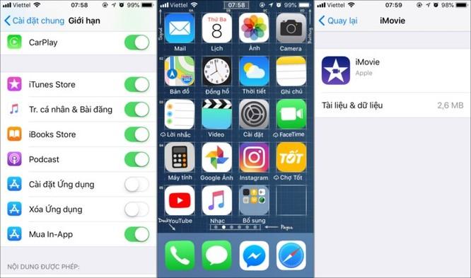 Mẹo cấm trẻ em cài đặt hoặc xóa ứng dụng trên iPhone, iPad ảnh 5