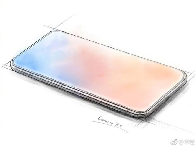Lenovo Z5 lộ diện với màn hình FullScreen chiếm tỷ lệ gần 100% toàn bộ mặt trước ảnh 1